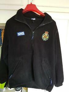 Obsolete Ambulance Fleece Jacket Paramedic NHS