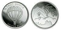 Hot Air Balloon (Monarch) 1/4 oz. Fine Silver Bullion Round!!