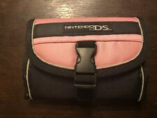 Nintendo DS Pink & Black Switch N Carry Travel Case Holder Game Cover Pouch
