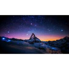 Galaxy Canvas Wall Art Starry Sky Poster Print Wall Painting Landscape Pictures