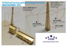 Fivestar PE 1/700 gru a torre FISSA E OFFICINA PER CANTIERE NAVALE i FS710232