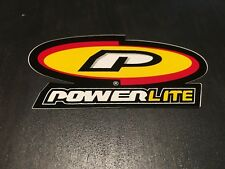 4 different /& 3 colors One Pair POWERLITE or PEDDLEPOWER Frame or Fork Decals