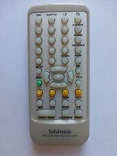 SHINCO PORTABLE DVD PLAYER REMOTE CONTROL RC-1730 for SDP1731 SDP1731A