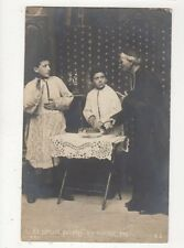 Et Surtout Galopins N'y Touchez Pas Vintage RP France Religion Postcard 387a