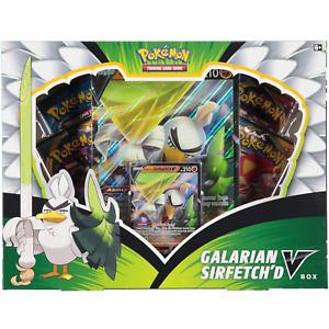 Pokemon TCG Galarian Sirfetch'd V Collection Box