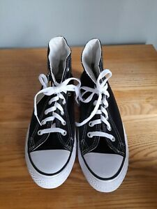 CONVERSE ALL STAR BLACK BOOTS SIZE 6 NEW