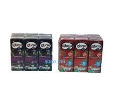 RIBERA cassis/fraise jus de cartons de boisson de vrais fruits Pack de 6 x 250 ml