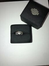 Super Cool Harley Davidson Tribal Heart Ring .925 Size 8 Womens $245 Msrp
