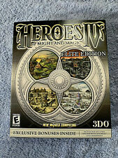 PC Original Heroes of Might and Magic IV 4 Elite Edition + All Expansions New