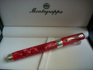 MONTEGRAPPA SYMPHONY ROLLER BALL - RED CELLULOID