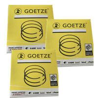 3x Kolbenringe Kolbenringsatz 63,5mm STD Goetze 08-136700-00 SMART 599ccm 0.6