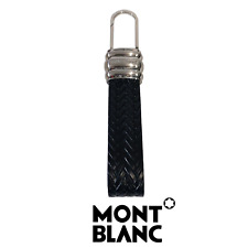 Montblanc Leather Goods Meisterstück MB 114502 Black Leather Men's Key Fob Star