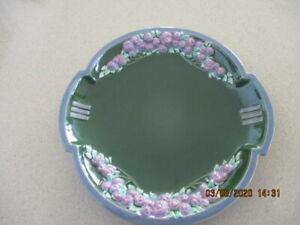 Vintage Art Nouveau Eichwald Bohemia Majolica Plate
