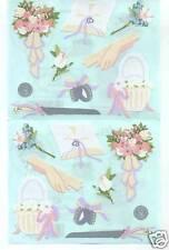 Mrs Grossmans Wedding Accessories Sticker Sheet BN &nla