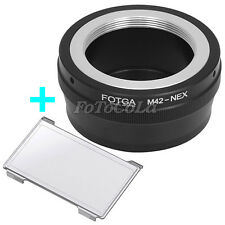 Adapter M42 42MM screw lens to Sony NEX-3 NEX-5 E mount