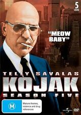 Kojak : Season 5 (DVD, 2012, 5-Disc Set) SEALED, R4