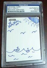 Original 1/1 Hand Drawn Sketch Kelly Kelly Signed WWE Card PSA/DNA COA Beach