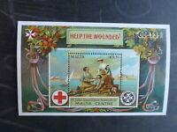 MALTA 2015 100th ANNIVERSARY OF ANZAC MINT STAMP MINI SHEET MNH