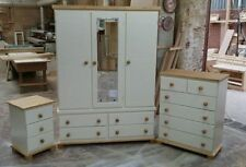 Handmade Country Wardrobes with 2 Doors