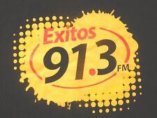 Exitos 91.3 FM Radio Station T-Shirt Mexican Station Mens XL