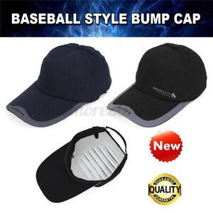 Bump Cap Safety Hard Hat Head Scalp Protection Mechanic Tech Baseball Cotton
