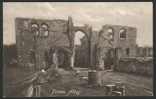 Cumbria. Barrow-in-Furness. Furness Abbey, or St. Mary of Furness. Vintage PC