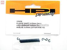 HPI 105658 Asse Flangiato Flange Shaft 3x35mm (2) Savage modellismo