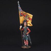 Tin Soldier, The standard bearer Scottish 92nd Regiment Gordon, 1815, 54 mm