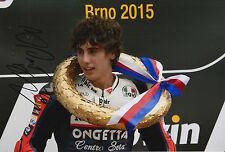 Niccolo Antonelli Hand Signed 12x8 Photo Ongetta-Rivacold Honda Moto3 2015 12.