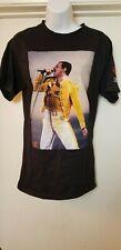 RARE Freddie Mercury Men's Small Champion Brand T shirt Queen Official Merch