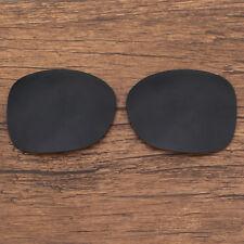 Polarized Replacement Sunglasses Lenses for-Spy Optics Fiona (Black)
