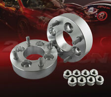 "2pcs 38mm (1.5"") Thick 4x114.3 to 4x114.3 Wheel Adapters Spacers M12x1.25 Studs"