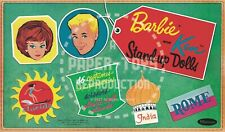Vintage Reprint - 1962 - Barbie And Ken Cut-Outs - Traveling Box Reproduction