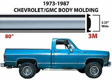 "80"" Roll Chrome Body Side Molding For 1973-1987 C10 K10 R10 V10 New Free Ship"