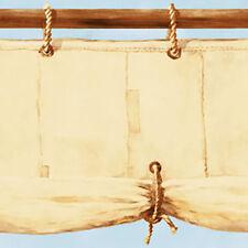 Piraten Tapeten Borte Bordüre Segeltuch Piratenschiff 50 cm hoch vorgeleimt
