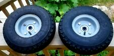 2 X 10 Wheel 300 4 260 X 85 Steel Rim 58 Bore Sack Barrow Trolley Cart