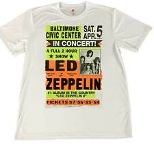 1970's Led Zepplin concert Poster Wicking  Shirt w American Flag Car Coaster