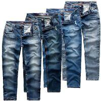 Sublevel Herren Jeans Pants Hose Denim Stretch Cargo Vintage Jogging