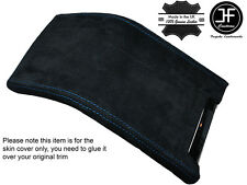 BLUE STITCHING SUEDE ARMREST COVER FITS FORD MUSTANG 2010-2014