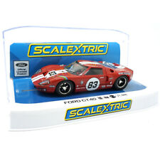 Scalextric C4152 Ford GT40-Rojo No.83 1/32 ranura de coche