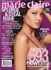 ANGELINA JOLIE Marie Claire Magazine November 2003 11/03 B-4-1