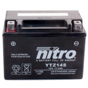Motorrad Batterie Nitro YTZ14S GEL geschlossen, 12V|11,2Ah|CCA:230A 150x87x110mm