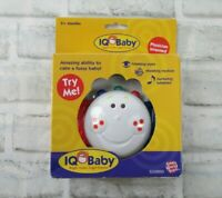 IQ Baby Baby Buzz'r Musical Vibrating Baby Soother Toy Small World Toys