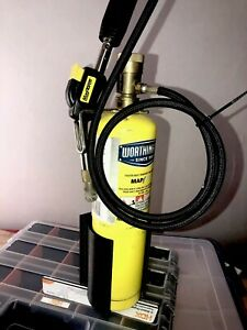 Map Pro Propylene Or propane torch holder Wall Tool Gas Stand Hvac Ford Van