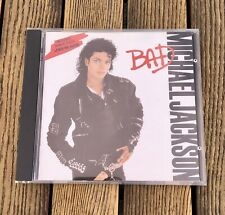 MICHAEL JACKSON BAD (1987, EPIC) used CD NEAR MINT