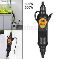 300/500W Submersible External Heater Inline Aquarium Fish Tank Thermostat Adjust
