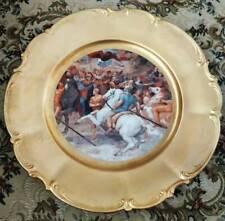 "Hutschenreuther Sylvia ""The Meeting of Leo I and Attila"" by Raffaello 13"" Plate"
