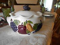celebrating home sonoma villa bean pot new in box ebay