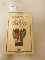 Ballata del Cesare e altre poesie di Oscar wild testo in italiano e inglese