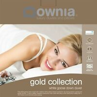 Downia Gold Collection Goose Down Doona|Quilt SUPERKING|KING|QUEEN|DOUBLE|SINGLE